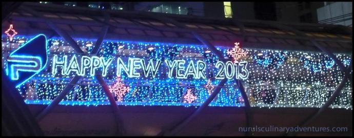 bangkok, happy new year 2013