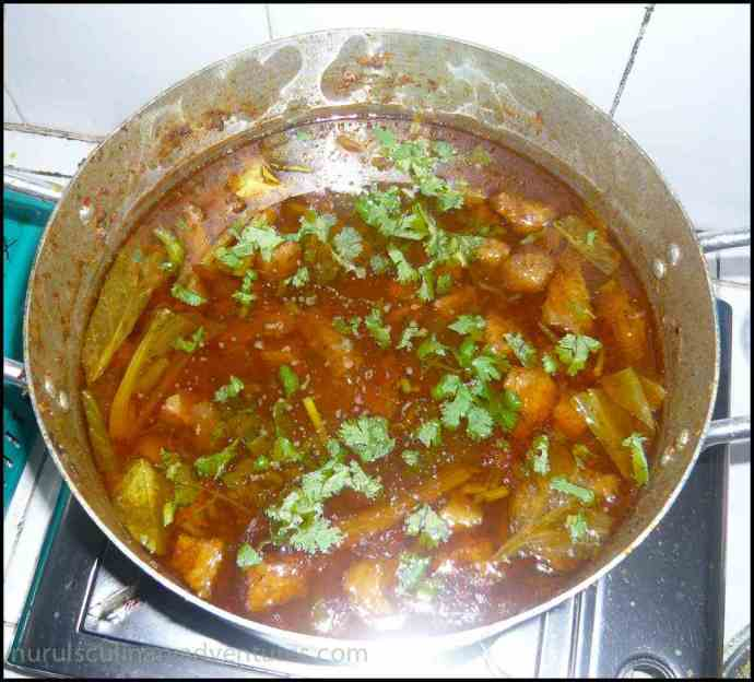 bengali beef curry with potatoes
