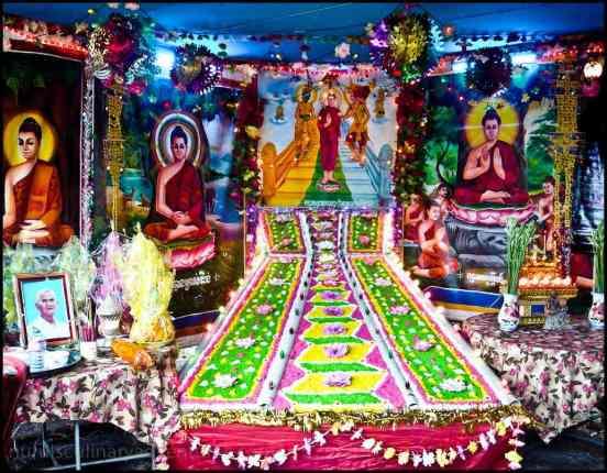 cambodian altar